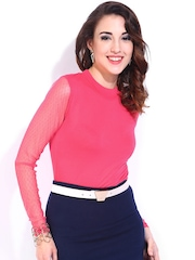 DressBerry Women Pink Top