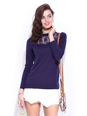 DressBerry Women Purple Top