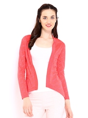 DressBerry Coral Pink Shrug