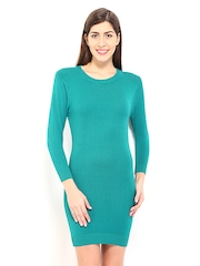 DressBerry Teal Green Winter Berry Dress