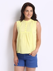 DressBerry Women Yellow Top