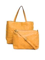 DressBerry Yellow Shoulder Bag