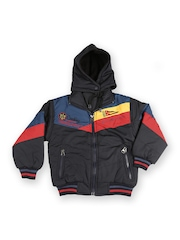 Duke Boys Black Padded Hooded Jacket