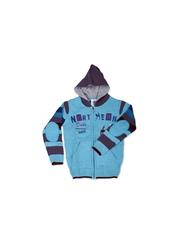 Duke Boys Turquoise Blue Hooded Sweater
