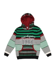 Duke Boys Black & Green Hooded Sweater