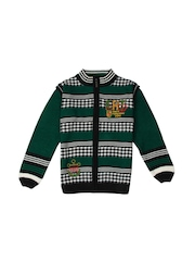 Duke Boys Green & Black Sweater