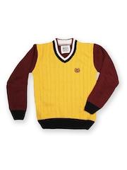 Duke Boys Yellow & Maroon Sweater