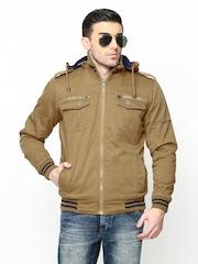 Duke Men Olive Green Jacket