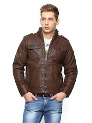Duke Men Brown Jacket