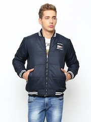 Duke Men Navy Jacket