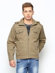 Duke Men Khaki Jacket