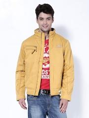 Duke Men Mustard Yellow Jacket