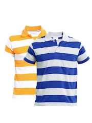 Duke Men Pack Of 2 Polo T-shirts