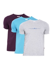 Duke Men Pack of 3 Printed T-Shirts
