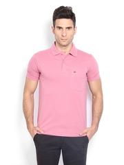 Duke Men Cotton Candy Pink Polo T-shirt