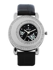 Dvine Women Black Dial Watch
