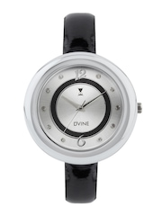 Dvine Women Silver Toned Dial Watch