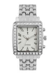 Dvine Women White Dial Watch
