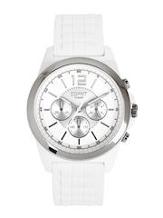 ESPRIT Men White Dial Chronograph Watch