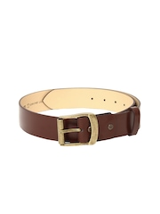 ETC Men Brown Leather Belt