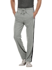 ETC Men Grey Melange Track Pants