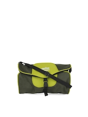 ETC Unisex Olive Green Travel Utility Sling Bag