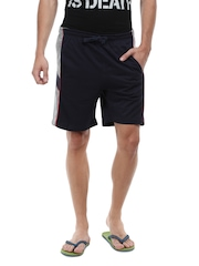 ETC Men Navy Basic Shorts