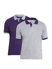 ETC Men Pack of 2 Polo T-shirts