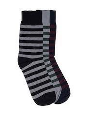 ETC Men Set of 3 Multicoloured Socks
