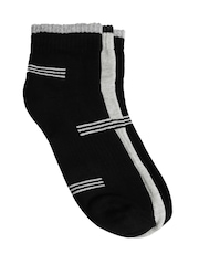 ETC Men Tri Stripe Ankle Pack of Three Socks
