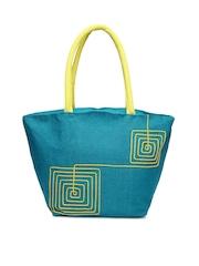 Earthen Me Blue Tote Bag