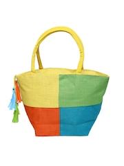 Earthen Me Multicoloured Jute Shoulder Bag