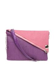 Earthen Me Pink & Purple Jute Sling Bag