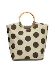 Earthen Me Women Brown Fashion Jute Tote Bag