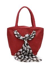 Earthen Me Women Red Tote Bag