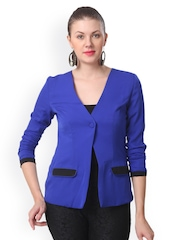 Eavan Women Royal Blue Jacket