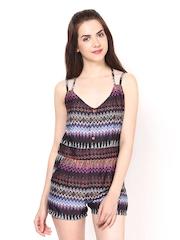 Eavan Women Multicoloured Printed Playsuit