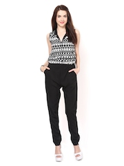 Eavan Women Black Printed Jumpsuit