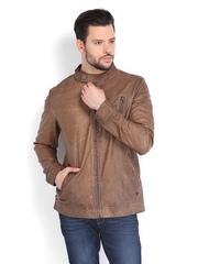 Ed Hardy Men Brown Jacket