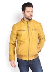 Ed Hardy Men Mustard Yellow Jacket
