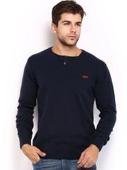 Ed hardy Men Navy Woollen Sweater