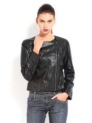 Ed Hardy Women Black Jacket