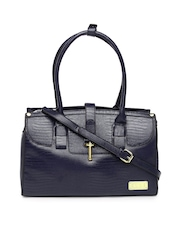 Elle Navy Shoulder Bag