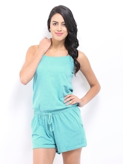 Elle Women Blue Playsuit
