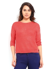 Elle Women Orange Top