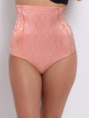 Enamor The Hourglass Collection Pink Lace Hi-Waist Shapewear BR02