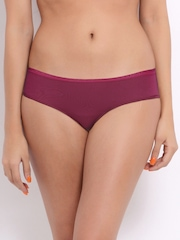 Enamor Women Wine Coloured Briefs 1LSEP02