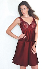 Enamor Red Nightdress DZ05