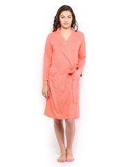 Enamor Women Orange Robe RB01