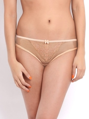 Enamor Women Peach Coloured Briefs DP21